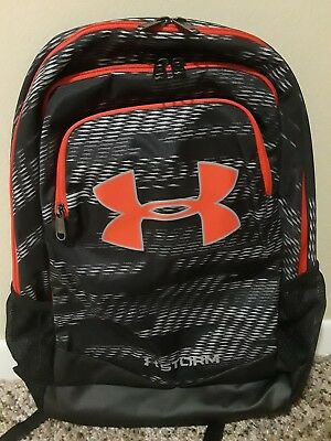 Under Armour Boys UA Storm Scrimmage Backpack 1277422 Black/Red 7074