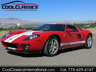 2006 Ford GT Coupe Ford GT Mark IV Red with 2,812 Miles, for sale!