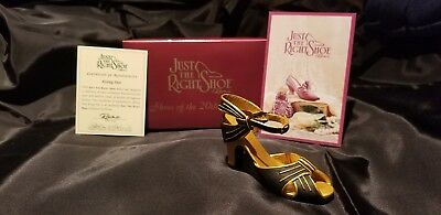 Rising Star # 25043 with Box & COA Just The Right Shoe by Raine 1999