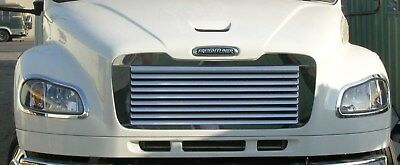 Freightliner M2 Stainless Louvered Grill, A17-14787-001 F-3056