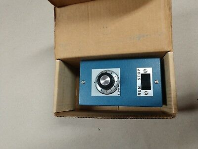 Ohmite rheostat 1111 100Ohm 0.87A Enclosed with ON/OFF Switch