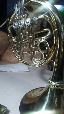 Ammoon Bb French Horn w Mouthpiece and No Case - Good Playing Beginner Horn!
