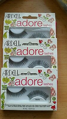 166dfb0a8c5 ARDELL ADORE LASHES / LOT OF3 ( Adhesive Not Included), VERY HARD TO FIND
