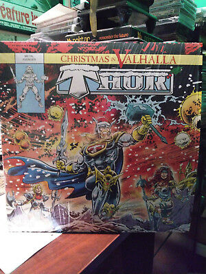 THOR - CHRISTMAS IN VALHALLA LP (only 100 made) Heavy Metal Rockin Slay Rider