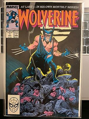 Wolverine #1 Comic Book Nm 1989 Marvel X-Men