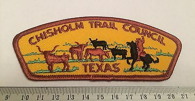 Chisholm Trail Council Texas T1a First Issue CSP Boy Scouts of America BSA