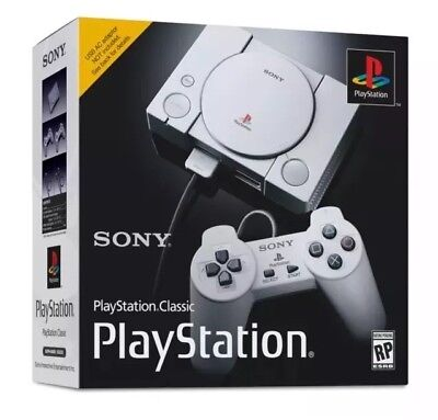 Sony PlayStation Classic Console Mini Modded - Over 200 PS Games