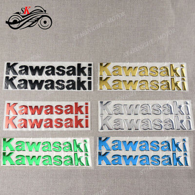 Motor Fairing Decal 3D Tank Sticker For Kawasaki NINJA 300R 250R 400R ZZR Z800