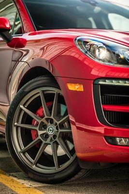 """HRE RS204M for PORSCHE MACAN S/GTS/TURBO in Satin Charcoal 21"""""""