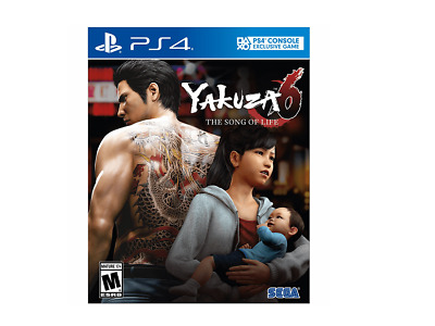 "Sega Yakuza 6: The Song of Life ""Essence of Art Edition"" (PlayStation 4)"