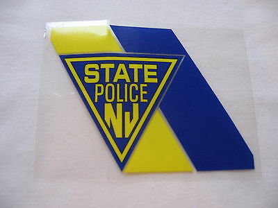 New Jersey State Police  - Window Decal - Free Shipping