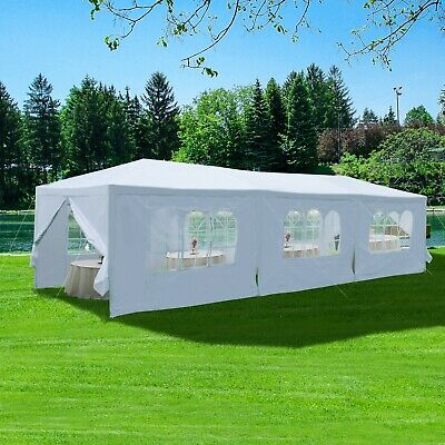 9M x 3M Waterproof Outdoor Garden Gazebo Marquee Canopy Party BBQ Wedding Tent
