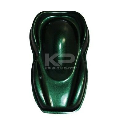Carbon Green Pearl Kp Pigments Powder 25 Grams Mica Plasti Dip Epoxy