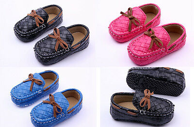 Baby Gentleman Faux Leather Crib Shoes Loafers Soft Soles Size 0-18 Months /M