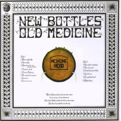 Medicine Head - New Bottles,Old Medicine (Expanded) CD Cherry Red NEW