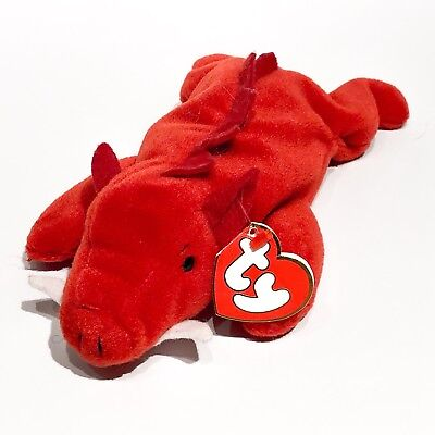 TY Beanie Baby - GRUNT the Razorback (3rd Gen Hang Tag - 99% Mint)