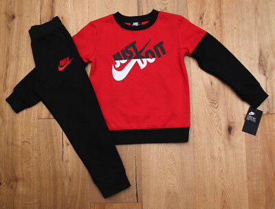 ebafef8942f1 NIKE BOY 2 Piece Jogging Set ~ Black