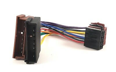 iso radio wiring harness connector adaptor for ford transit focus mazda  nissan