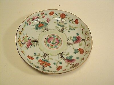 Ancienne Plat Chinois Porcelaine Chine Chinese Porcelain Marks
