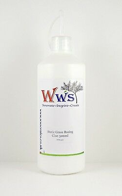 WWS STATIC GRASS BASING GLUE 500 BOTTLE. Huge Saving