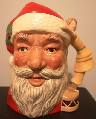 Royal Doulton L/s Santa Claus Character Jug, D6668, Perfect.