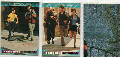 Sliders - Lot Of 3 Different Chase Cards EX Inkworks 1997
