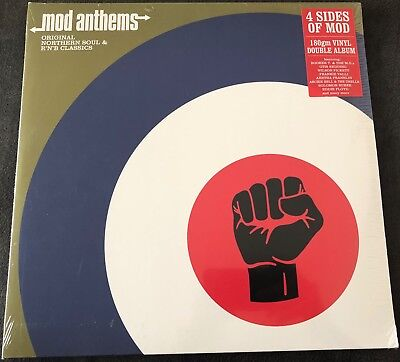 "Various - Mod Anthems: Original Northern Soul & R'N'B Classics 2 x 12"" Vinyl"