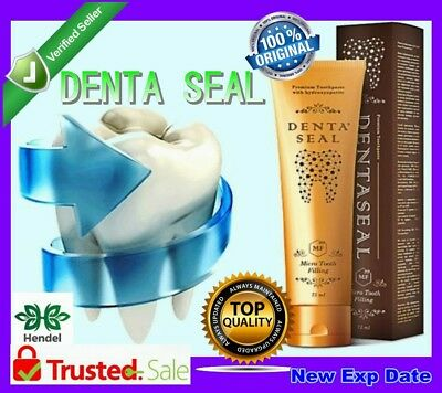 DENTA SEAL Unique Toothpaste with whitening effect ORIG Hendels Garden NEW Exp