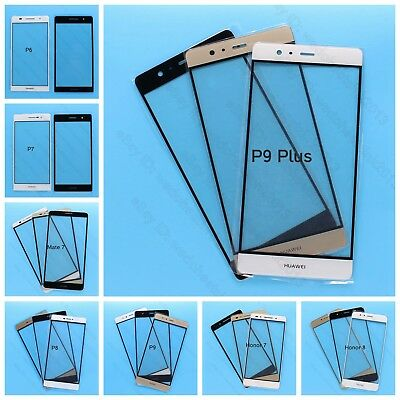 Front Outer Lens Glass Touch Screen For Huawei P6 P7 P8 P9 Plus Mate Honor 7 8