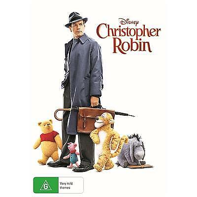 Christopher Robin Dvd, New & Sealed, 2018 Release, Free Post
