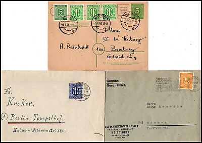 "All.Bes.: ""HEIDELBERG"" 2 EF u. 1 MiF mit AM-Post a. GAK (500)"