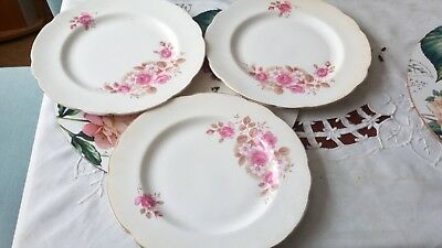 Vintage Royal sutherland  fine bone china small plates