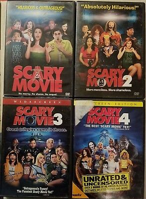 Scary Movie DVD Collection 1, 2, 3, 4 ~ CHOOSE, Combine Shipping & SAVE!!!