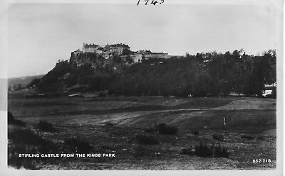 Post Card,stirling Castle From The Kings Park.