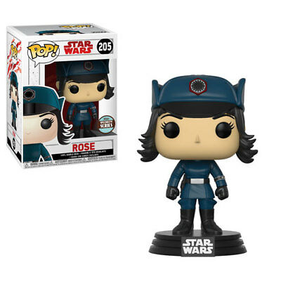 """Funko Pop! Star Wars: The Last Jedi """"rose (Disguise)"""" Specialty Series *in Stock"""
