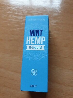 LIQUIDO CBD ORIGINALS HARMONY 10ml -100mg SIN NICOTINA E-LIQUID MINT HEMP