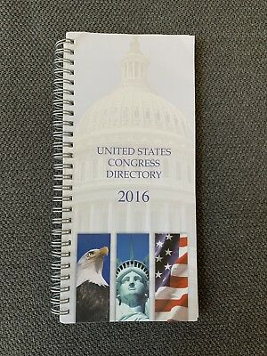 United States Congress Directory 2016