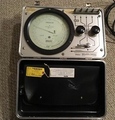 Wallace And Tiernan Pneumatic Calibrator Pennwalt - Works - With Extras