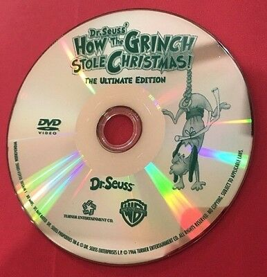 How the Grinch Stole Christmas (Dr. Seuss' 1966 Original) [DVD] BUY 3 GET 1