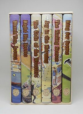 JEEVES & WOOSTER ~ P. G. Wodehouse ~ The Folio Society ~ 6 Volume Box Set 2000