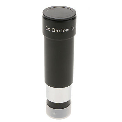 3x Magnification Barlow Lens 1.25inch/ 31.7mm for Telescope Eyepiece
