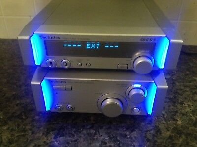 technics amplifier and tuner se hd505md
