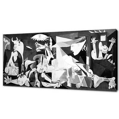 Guernica Pablo Picasso Canvas Picture Print Wall Art Free Fast Delivery