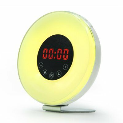 Digital Alarm Clock with FM Radio, Wake up Light with Sunrise