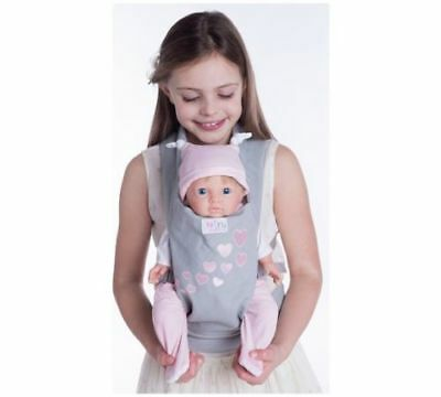 NEW Chad Valley Tiny Treasures Baby Doll Carrier Designaed For Child To Wear