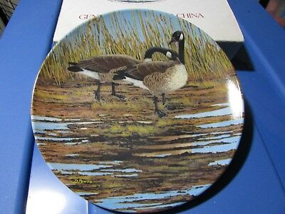 Canada Goose Courtship Donald Pentz Art 1986 Dominion Collector Plate #3