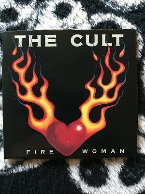 """The Cult-Fire Woman 3"""" CD Single Includes The Rare Edit Of Fire Woman"""