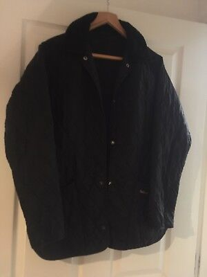 Barbour Quilted Jacket Size 16