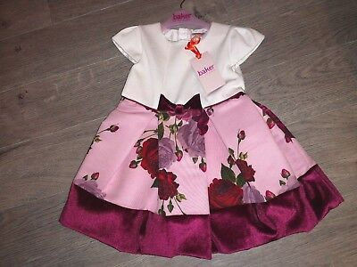 Ted Baker Baby Girls dress 18-24 months beautiful new with tags christmas party