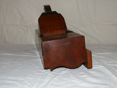Quirk Ogee Crown Molding Plane - REED, Utica